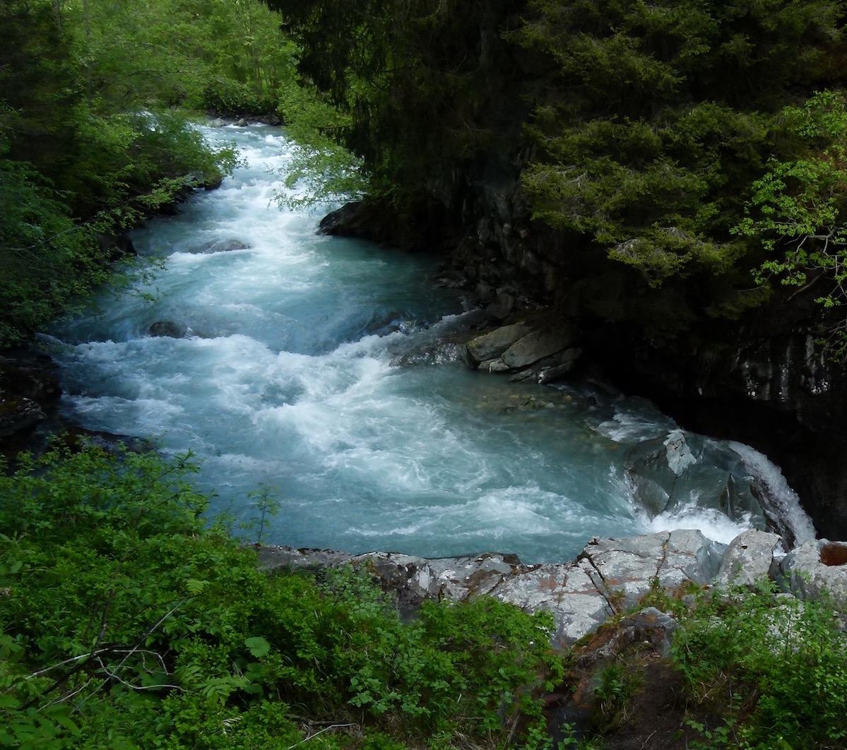 Der Wasserverkäufer am Fluss